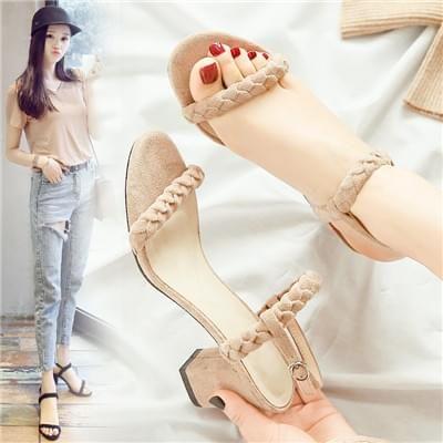 女士罗马凉鞋