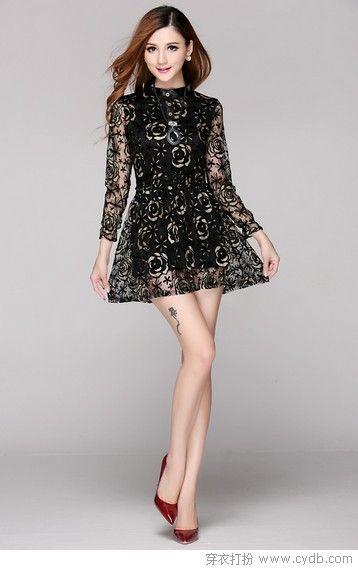 连衣裙亦有个性