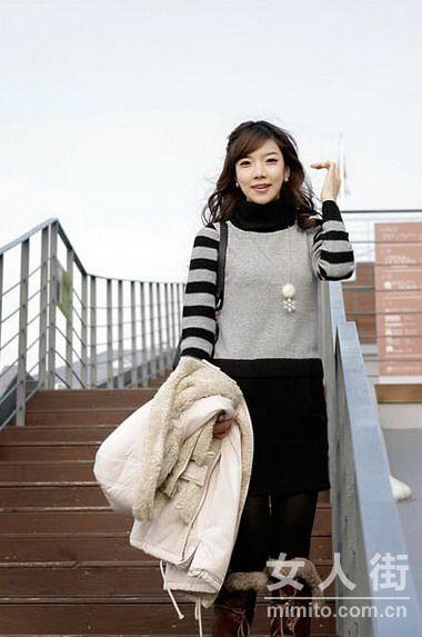 1月韩国甜美装图集 最讨男友喜欢